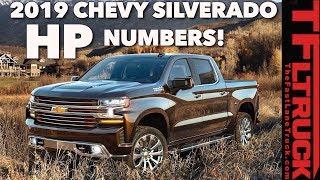 TFLtruck Exclusive: 2019 Chevy Silverado & GMC Sierra 1500 Power Specs Leaked Early
