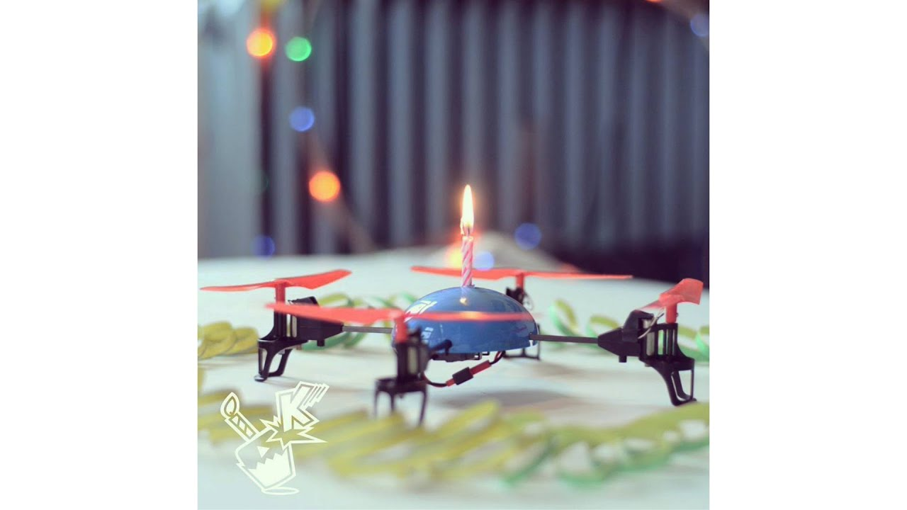 Drone Birthday Cake Pic