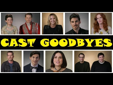 Once Upon A Time Season 7 Cast Goodbyes HD