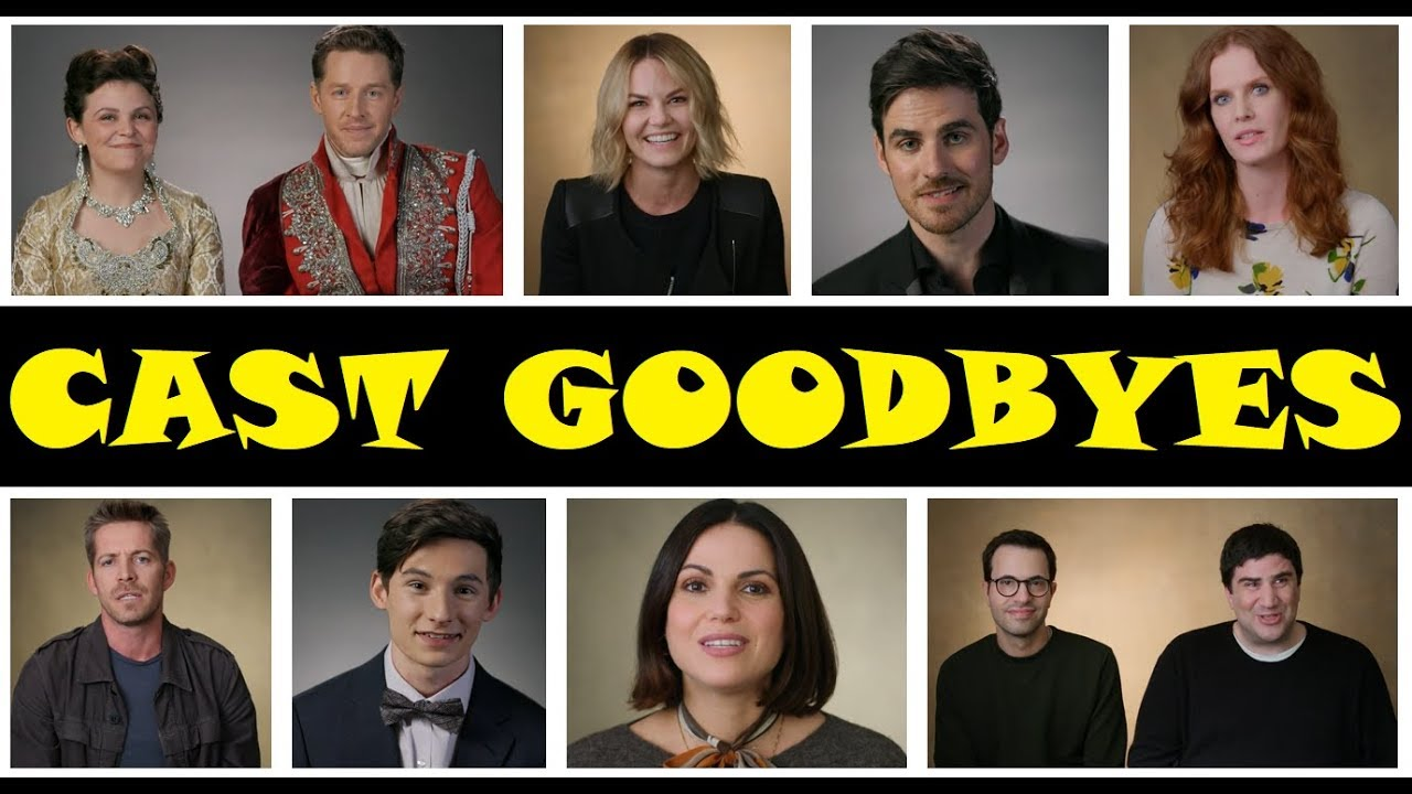 """Download Once Upon A Time Season 7 Cast Goodbyes (HD) """"And They Lived Happily Ever After"""""""