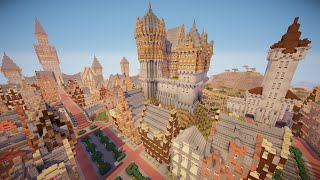 Minecraft: EPIC MEDIEVAL CITY!! YouTube