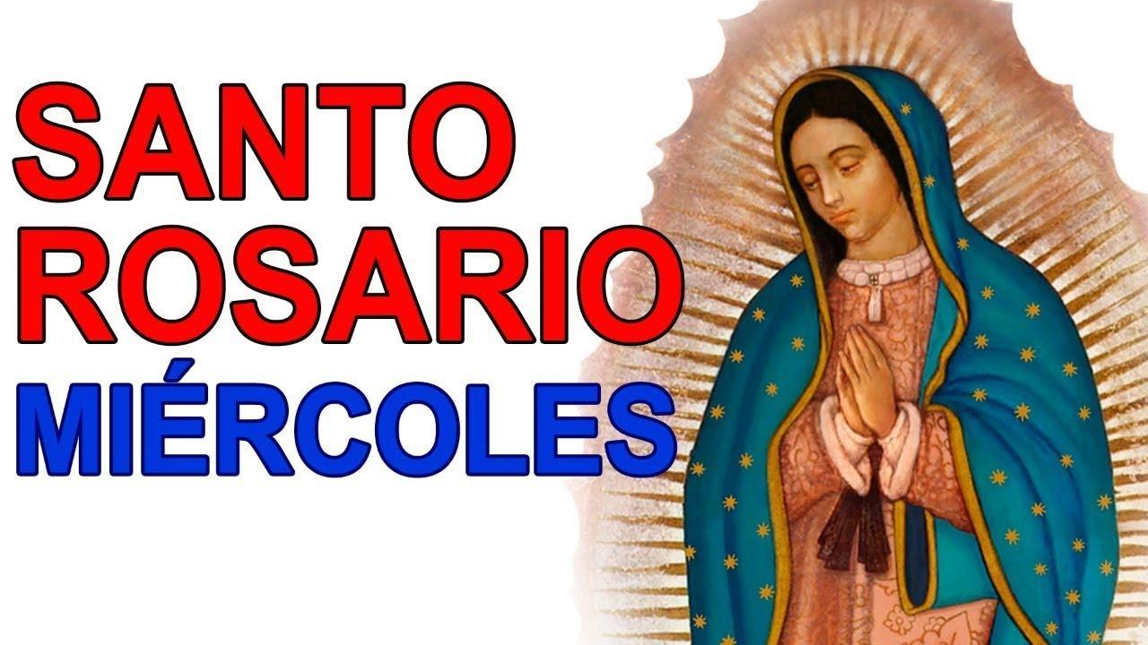 Santo Rosario de hoy Miércoles 28 de julio Meditación de los MISTERIOS GLORIOSOS