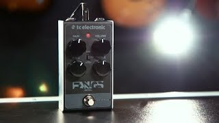 Tore Mogensen Demos The TC Electronic Fangs Metal Distortion Effects Pedal