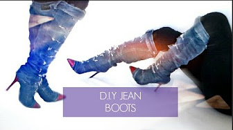 6aa61ee3322658 DIY clothes and boots - YouTube