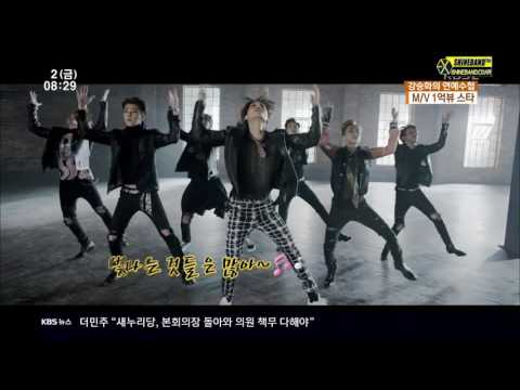 160902 EXO OST 중국차트 1위 + 1억뷰 MV 3개 보유