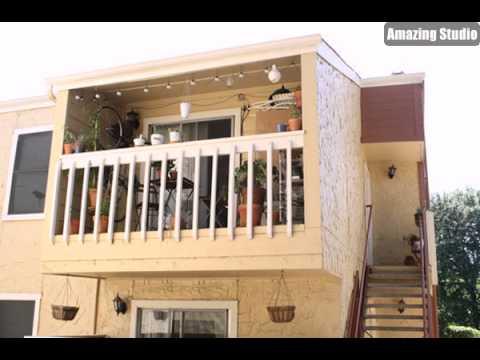 kleiner balkon garten design ideen youtube. Black Bedroom Furniture Sets. Home Design Ideas