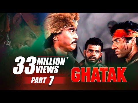 Ghatak | Part 7 | Sunny Deol, Meenakshi Seshadri, Danny Denzongpa | B4U Mini Theatre