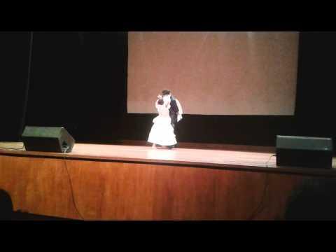 Ricardo Leiva y Elisa costa Presentación en el Colegio Hiram Bingham