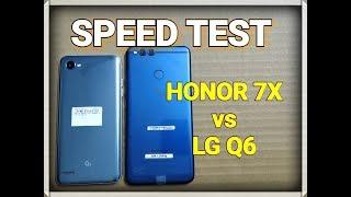 Honor 7X vs LG Q6 - Speed Test | Multitasking