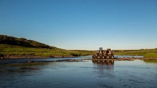 Рыбалка в Большеземельской тундре Ненецкого АО, июль 2016,  фильм второй.