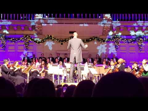 Tacko Fall conducts the Boston Pops part 1