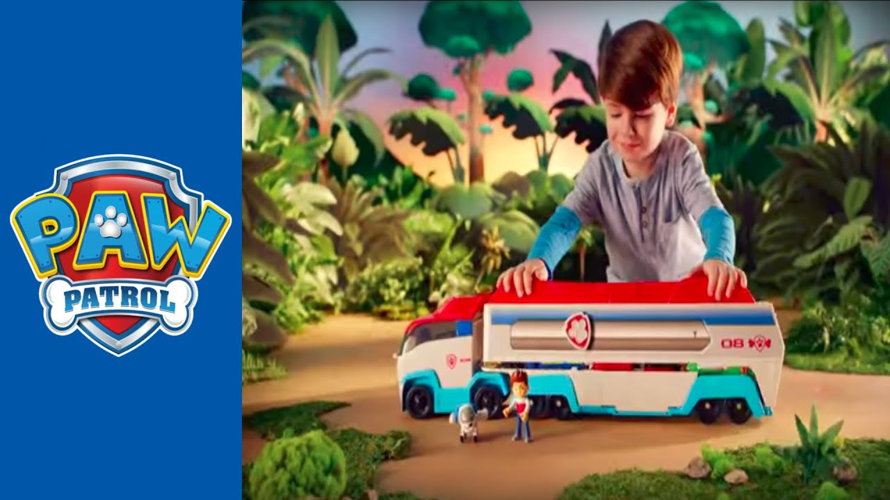 paw patrol  paw patroller 2015 30 commercial  youtube