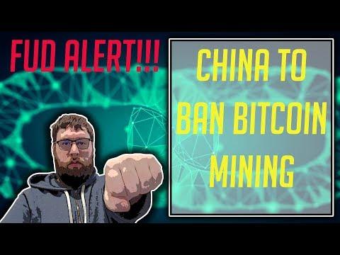 China FUD!!! China To Ban Bitcoin Mining