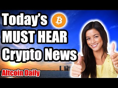 TODAY'S Cryptocurrency News!!! [Bitcoin ETF SEC, Future Of Crypto, Blockchain Music Festival]
