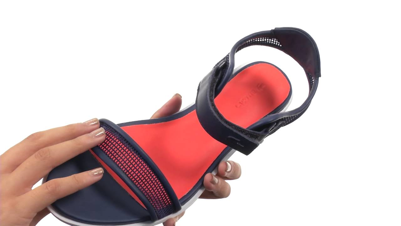 44cc457404ea Lacoste Lonelle Low Sandal 216 2 SKU 8731611 - YouTube