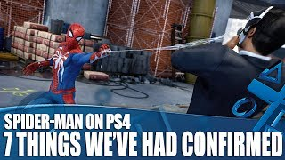 Marvel's Spider-Man on PS4 - 7 Things We've Had Confirmed