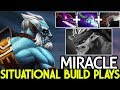 MIRACLE [Phantom Lancer] Silver Edge Situational Build Counter Plays 7.23 Dota 2