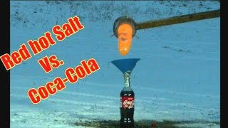 Molten Salt Vs. Coca-Cola   Will it Explode?