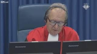 Bosnian War general Slobodan Praljak takes poison in UN court, dies