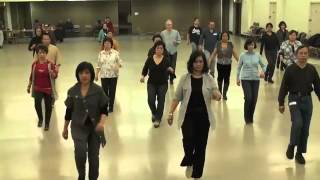 Line Dance  LA CUMPARSITA