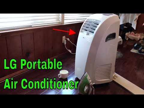 ✅ How To Use LG Portable Air Conditioner Review