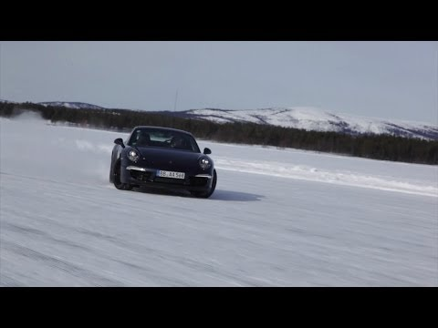 Bosch winter test center in Sweden