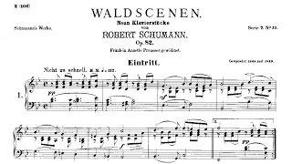 Robert Schumann: Waldszenen Op. 82 (1849)