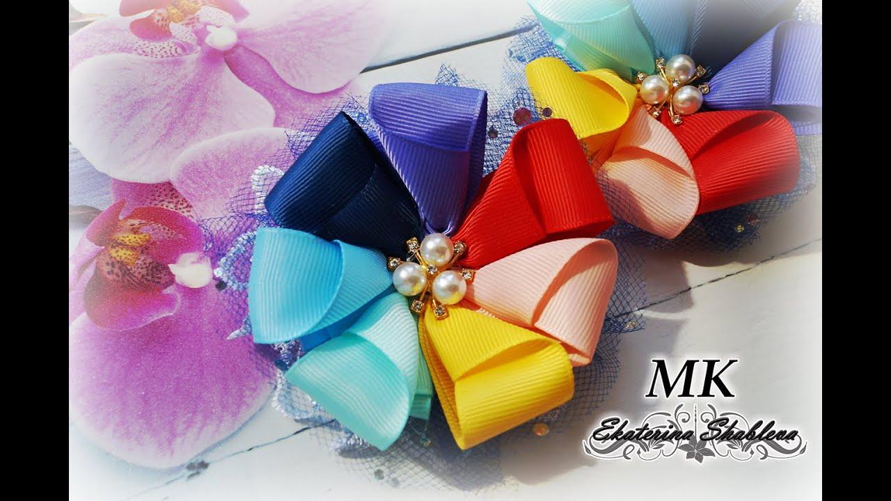 Яркие, летние ,нарядные!!!Радужные бантики.