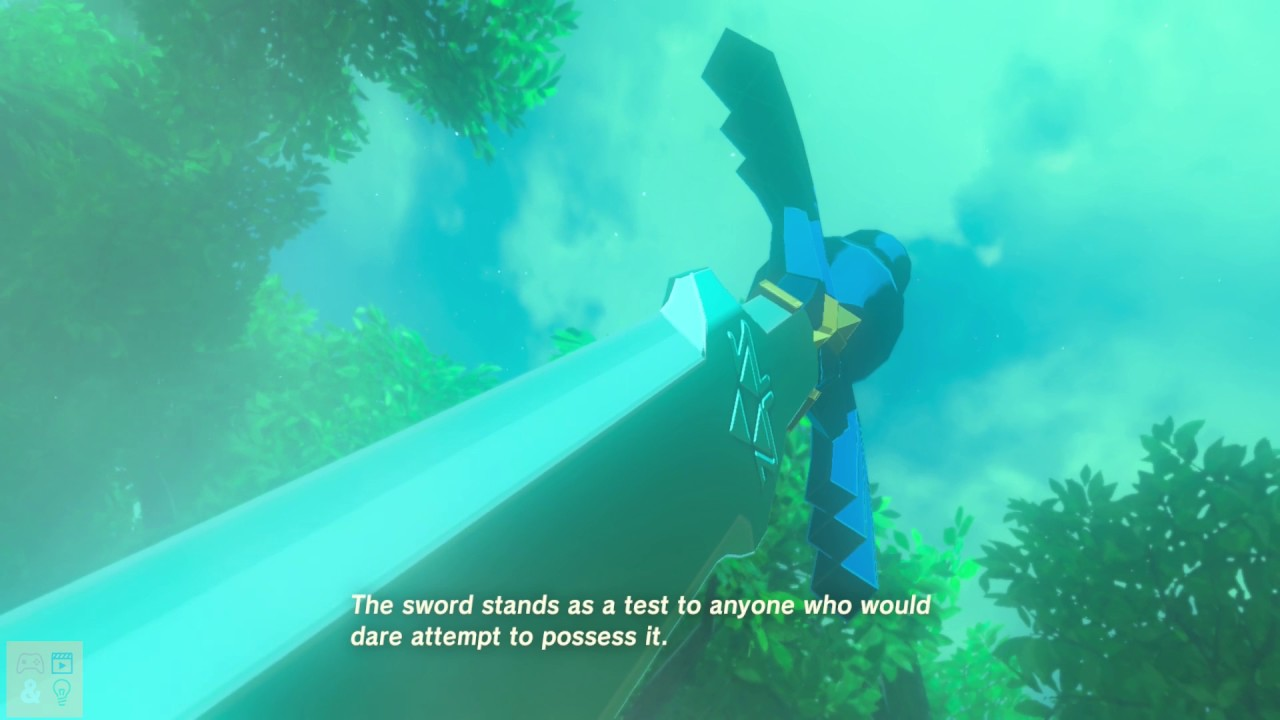 legend of zelda breath of the wild finding the master