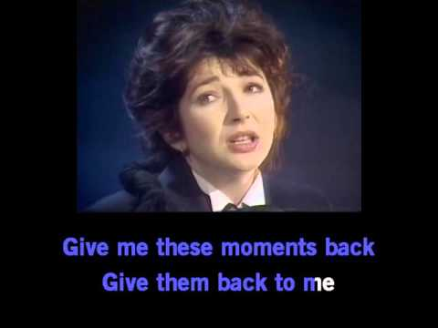 Kate Bush - This Woman's Work   [karaoke]