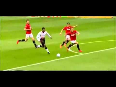 Sturridge dive - vidic red card - man utd 0-3 liverpool