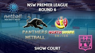 2018 Samsung Premier League Round 6 - U20s/Opens - Showcourt - Panthers v North Shore United