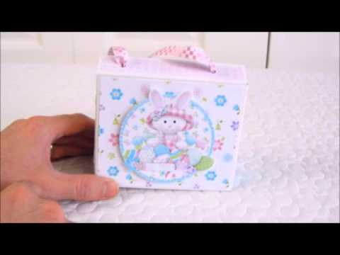 Super Easy Easter Treat Box from Nitwit Collections