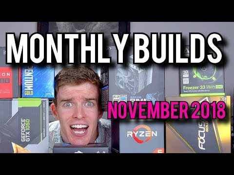 RX 590, VR, And Gaming PC Builds! [Monthly Builds 14]