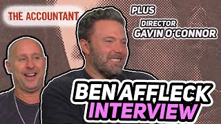 "ES Archive ""The Accountant"" Ben Affleck & Gavin O'Connor Interview"