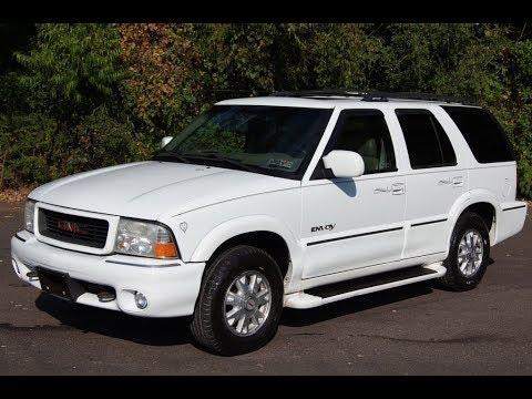 2000 GMC Envoy 4WD White