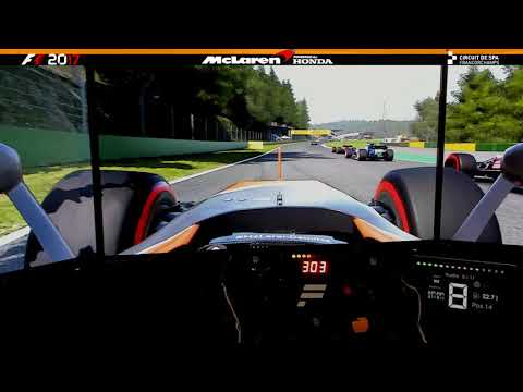 F1 2017 | Bendito Safety Car!!! - Mclaren Honda MCL32 @ Belgian GP | Spa Francorchamps