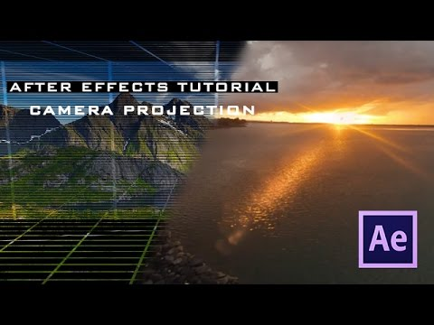 After Effects Camera Mapping Tutorial 2D to 3D - video ...