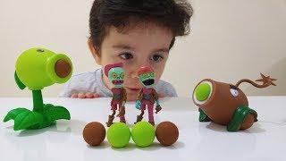 KOMİK ZOMBİLER!!!Zombi Vurmaca Oyunu Oynadık|PVZ Plants vs Zombies Peashooter Games
