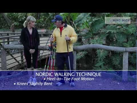 Learn easy Nordic walking to get fit now (Episode 33)