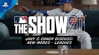 MLB The Show 20 - Javy & Coach Discuss Leagues | PS4