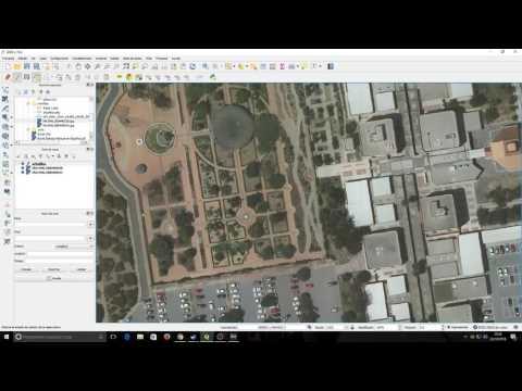 Crear capa de puntos con QGIS