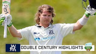 Pucovski doubles down on Test bid with back-to-back 200s | Marsh Sheffield Shield 2020-21