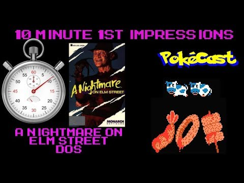 10 Minute 1st Impressions : A Nightmare on Elm Street (DOS)