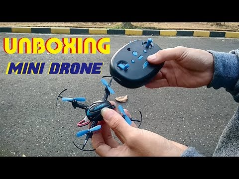 UNBOXING Mini Drone JJRC H48 | Drone Murah 100 Ribuan | Review Mini Drone Murah