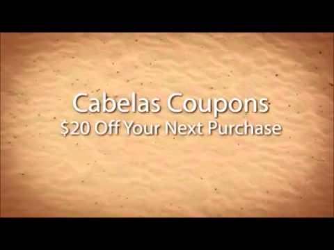 Cabelas.com coupon code