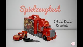 Cars Mack Truck Simulator / Unboxing / Ehrlicher Spielzeugtest