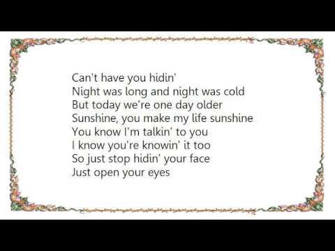 Chicago - Wake Up Sunshine Lyrics