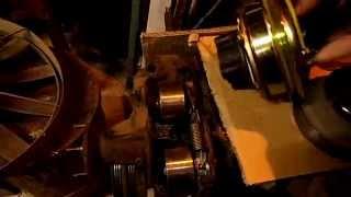 видео Привод насоса и вентилятора системы охлаждения Уаз, регулировка