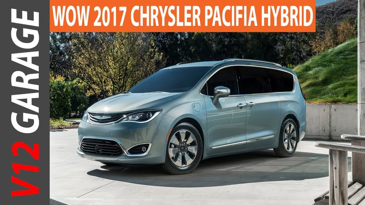 2017 Chrysler Pacifica Hybrid Mpg Review And Specs